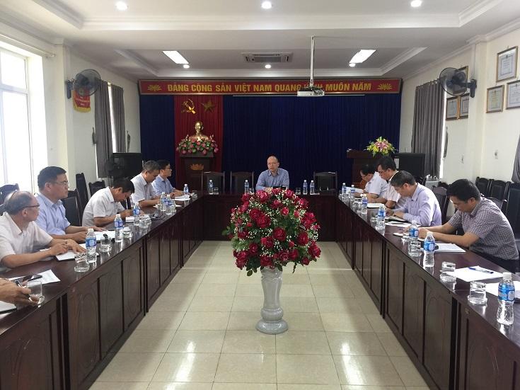 Cục trưởng Bùi Thiên Thu làm việc với các đơn vị tại Hải Phòng
