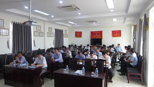 Lễ công bố và trao Quyết định nâng cấp Đảng bộ cơ sở