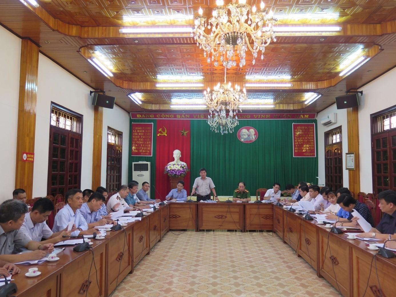 Làm việc với Sở GTVT tỉnh Yên Bái về công tác quản lý nhà nước lĩnh vực giao thông đường thủy nội địa trên địa bàn tỉnh.